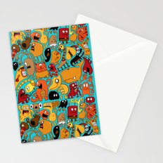 Creature Cluster Stationery Cards