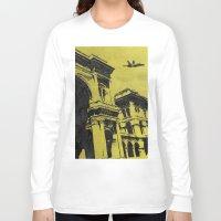 milan Long Sleeve T-shirts featuring Milan 3 by Anand Brai