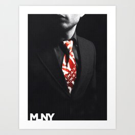 ★ MLNY ★ SPRING 2012 ★ MEN'S ACCESSORIES ★ Art Print