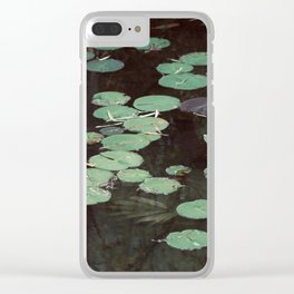 Hidden Pond Clear iPhone Case
