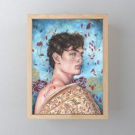 Archangel Samael Framed Mini Art Print