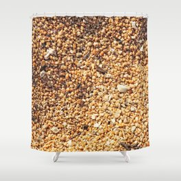 True grit - coarse sand Shower Curtain