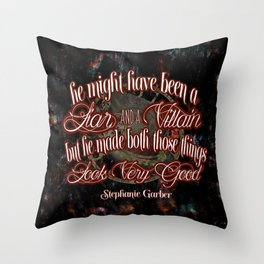 Legendary Quote Throw Pillow