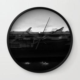 Intrepid Wall Clock