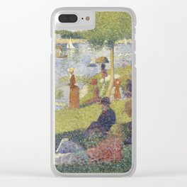 """Study for """"A Sunday on La Grande Jatte"""" Clear iPhone Case"""