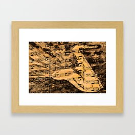 Sweet melodies Framed Art Print