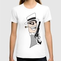 western T-shirts featuring Western Mobster by Grime Lab