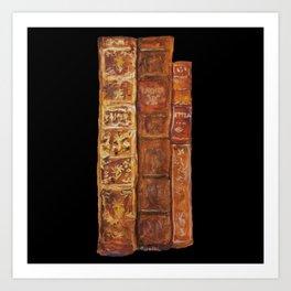 Livres Des Morts Art Print