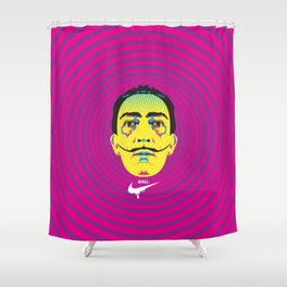 Salvadore Dali - History of Art Shower Curtain