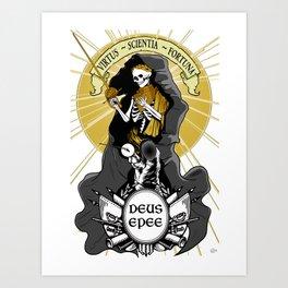 Deus Epee Art Print