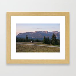 Morning Van Framed Art Print