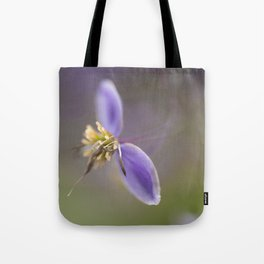 Purple Two Tote Bag