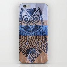 orange owl iPhone & iPod Skin