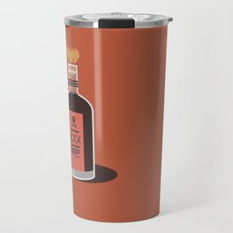 A little nip won't hurt you ! - Love is poison !  Travel Mug