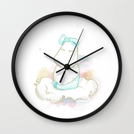 Sleepyhead Wall Clock