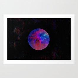 Orb Landscape Art Print