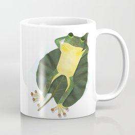 Lazy frog. Coffee Mug