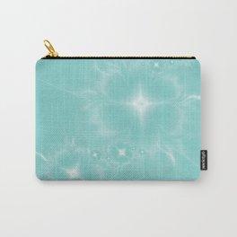 Fleur de Nuit in Aqua Tone Carry-All Pouch