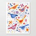 Birds in a Garden by squirrell