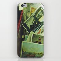 monet iPhone & iPod Skins featuring monet boy by n o a h