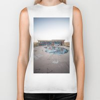 oasis Biker Tanks featuring The Oasis by Jeffrey Stroup
