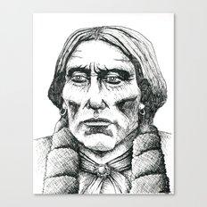 Quanah Parker, Last Chief of the Comanches Canvas Print