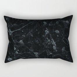 Grey Neurons Rectangular Pillow