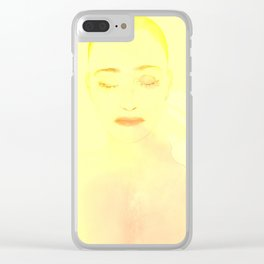 She is the sun 3D Clear iPhone Case