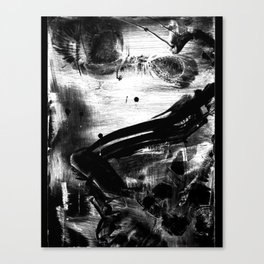 curtsy Canvas Print