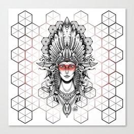 Geometric Indian Canvas Print