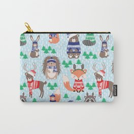 Christmas woodland Carry-All Pouch