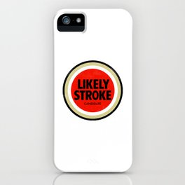 Likely Stroke iPhone Case