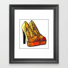 Shoe 3 Framed Art Print