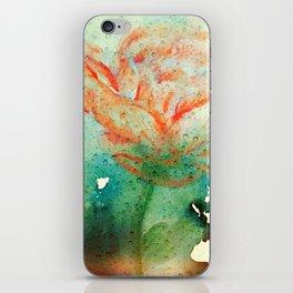 Underwater Flower iPhone Skin