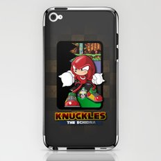 knuckles the echidna iPhone & iPod Skin