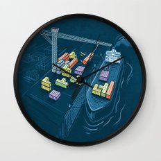 Game Port Wall Clock