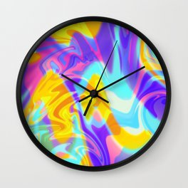 Loud Places Wall Clock