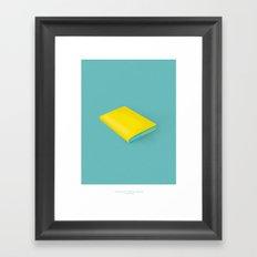 Ignite the imagination Framed Art Print