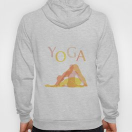 Yoga poses- people doing yoga silhouette- yoga lover Hoody