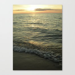 Michigan Sunset 1 Canvas Print