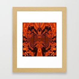 Tribal Lion Framed Art Print