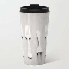 There's a fork in the road, but you never take it, always go the same way home... Travel Mug