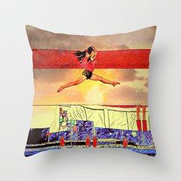 soar high! Throw Pillow