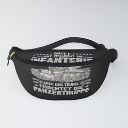 Tank t-shirt german tank soldiers outfit Fanny Pack