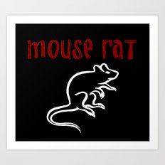 Mouse Rat Art Print