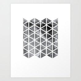 GEOMETRIC SERIES I Art Print