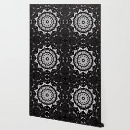 Dark Moth Mandala Wallpaper