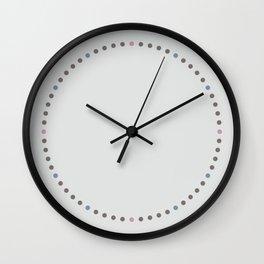 Dot Grid Wall Clock