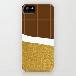 chocolate yum! iPhone Case