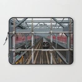 J Train - Williamsburg Bridge Laptop Sleeve